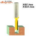 ルーター ビット ストレート 1/2軸 ( 刃径 7.94mm ) Microtungsten carbide 【dm09104】