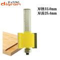 ルーター ビット ラベット 1/2軸 ( 刃長 25.4mm ) Microtungsten carbide 【dm09512】