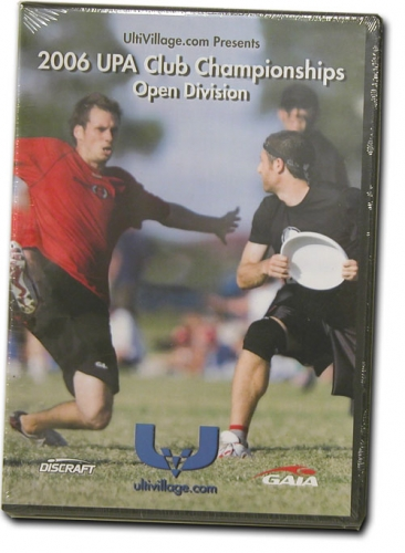 2006 UPA Club Championships OPEN DVD