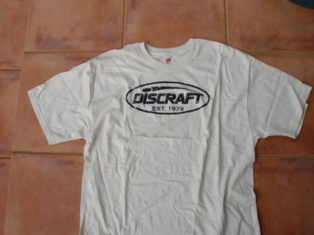 DISCRAFT コットンTシャツ