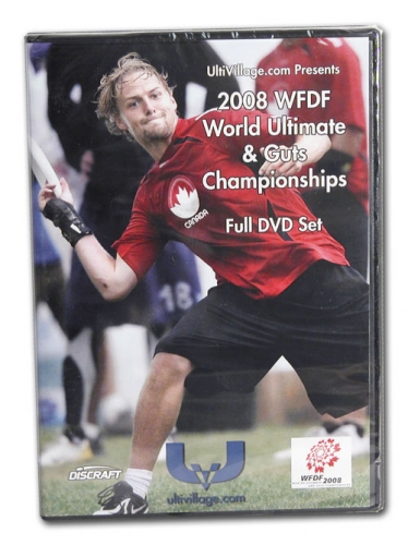 2008 World Ultimate & Guts Championships DVD