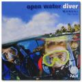 PADI オープン・ウォーター・ダイバー・マニュアル(テーブル)