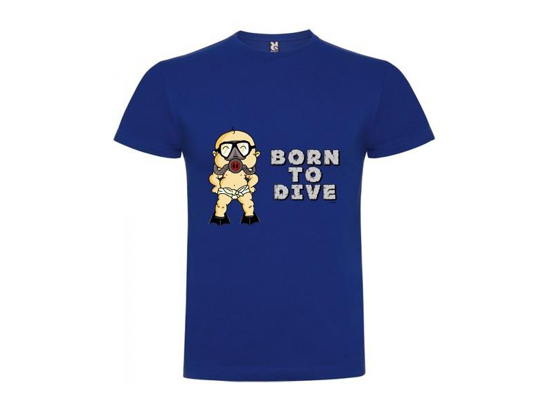Kruskis Tシャツ [Born To Dive]