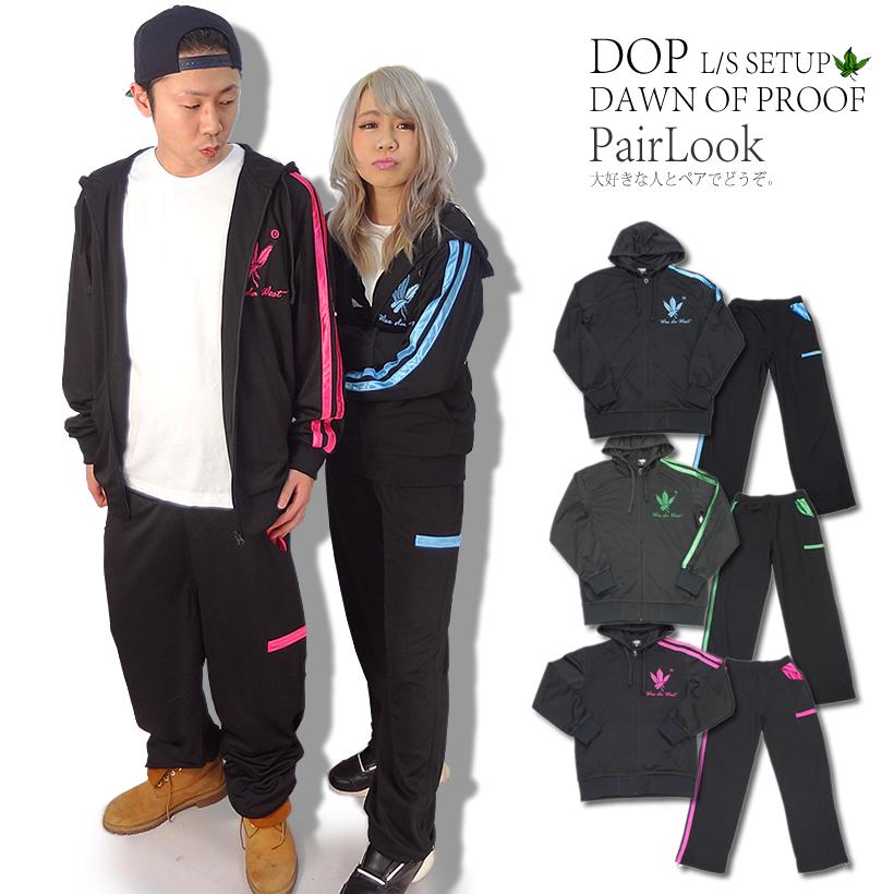 DOP (ディーオーピー) ジャージセットアップ 葉っぱ DPST043