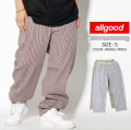 バギーパンツ メンズ 極太 ヒッコリーパンツ B系ファッション メンズ ストリート系 ファッション agd010