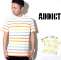 ADDICT アディクト Tシャツ ADM17301 ait021