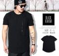 BLACK KAVIAR (ブラックキャビア) 半袖Tシャツ メンズ BKTT019