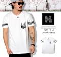 BLACK KAVIAR (ブラックキャビア) 半袖Tシャツ メンズ BKTT022