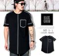BLACK KAVIAR (ブラックキャビア) 半袖Tシャツ メンズ BKTT023