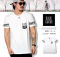 BLACK KAVIAR (ブラックキャビア) 半袖Tシャツ メンズ BKTT026