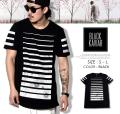 BLACK KAVIAR (ブラックキャビア) 半袖Tシャツ メンズ BKTT029