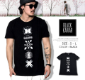 BLACK KAVIAR (ブラックキャビア) 半袖Tシャツ メンズ BKTT031