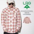 Mサイズ LRG エルアールジー カジュアルシャツ チェックシャツ ボタンダウン スケーター ストリート系 ファッション LRO065