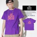 SIR BENNI MILES【サーベニマイルス】S/S TシャツSTYLE:SF10-90042●カラー:パープル(紫色) ★HIPHOP/スケーター/B系アイテム