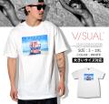 VISUAL (ビジュアル) 半袖Tシャツ メンズ LIFE GUARD VSTT013