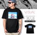 VISUAL (ビジュアル) 半袖Tシャツ メンズ LIFE GUARD VSTT014