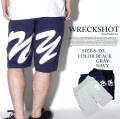 GHETTO KING by WRECK SHOT レックショット ハーフスウェットパンツ wrs229 ダンス 衣装 B系 HIPHOP