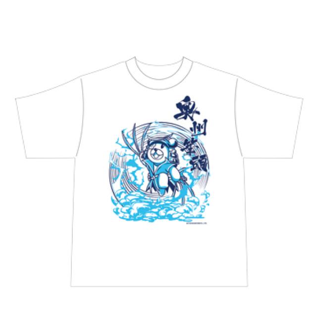 戦国BASARA×鷹の爪 Tシャツ S 博士/伊達