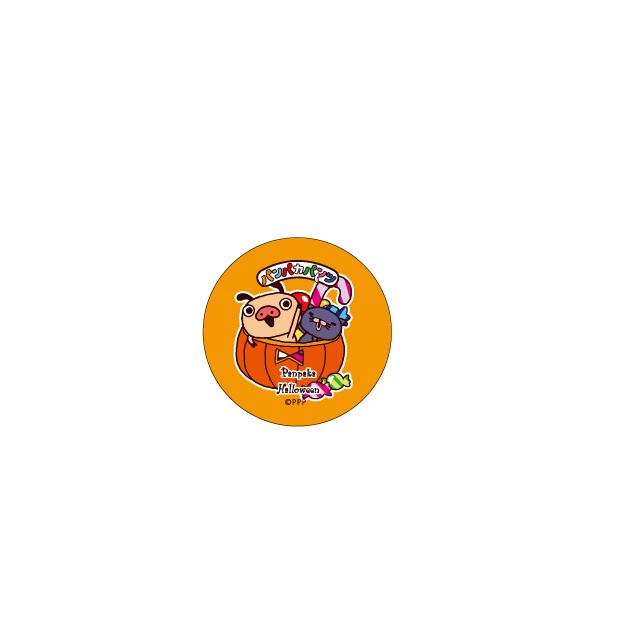 パンパカパンツ 缶バッジ(ハロウィン キャンディポット)