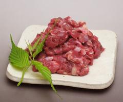 広島県産ダチョウ肉 200g 貴重なダチョウ肉今季終了。12月上司までの賞味期限のため特別価格で