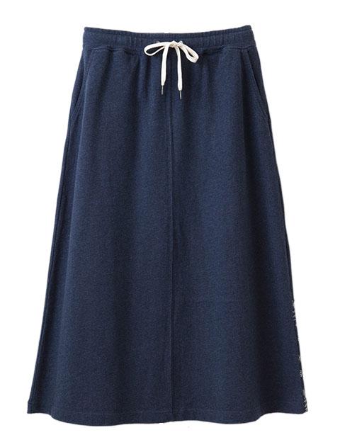 【WOMEN】ペイズリーロングスカート