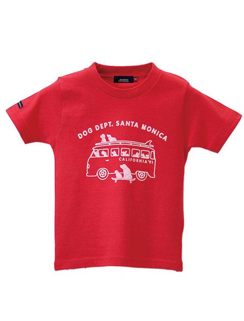 【KIDS】おすわりワーゲンTシャツ