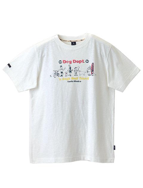 【UNISEX】ベストフレンズTシャツ