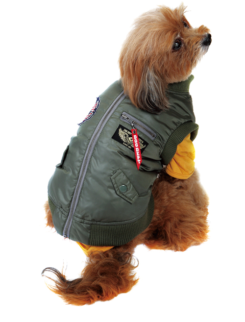 【DOG WEAR】MA-1 ファイバーダウン