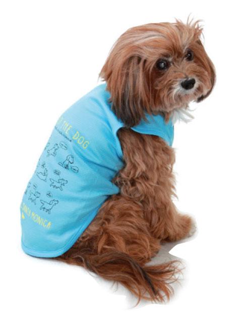 【DOG WEAR】サインDOG ノースリーブ