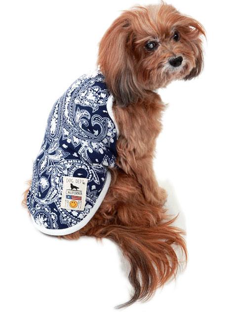 【DOG WEAR】ペイズリーキャミ