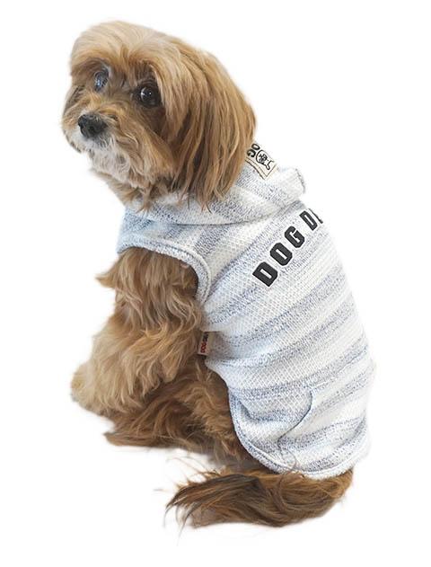 【DOG WEAR】撚り杢インレーパーカー