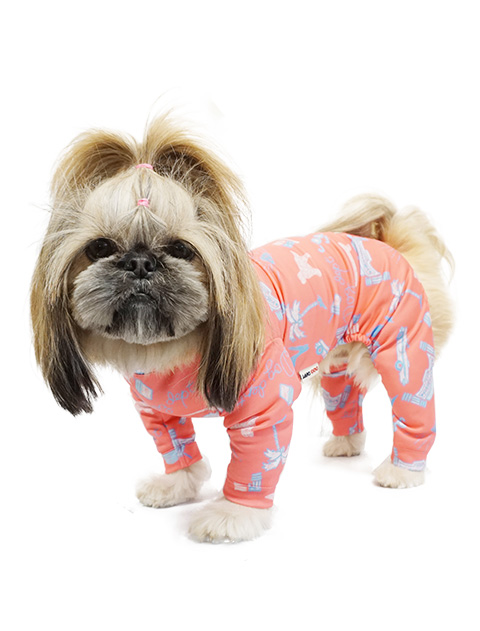 【DOG WEAR】スーパーストレッチロンパース
