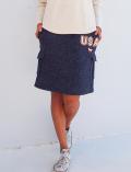 【3/31販売終了】【WOMEN】サガラロゴスカート