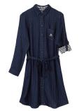【3/31販売終了】【WOMEN】Wガーゼリバーシブルシャツ