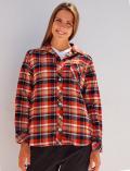 【3/31販売終了】【WOMEN】チェックシャツ