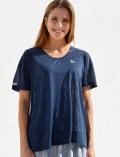 【WOMEN】リネンライクTシャツ