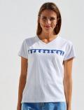 【WOMEN】おすわりワンコ Giggle Tシャツ