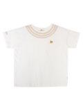【WOMEN】首元刺繍Tシャツ