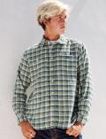【3/31販売終了】【UNISEX】チェックワークシャツ