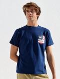 【UNISEX】フラッグポケットTシャツ