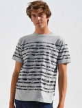 【UNISEX】カモフラボーダーTシャツ