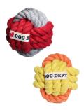 【DOG GOODS】ボールロープトイ
