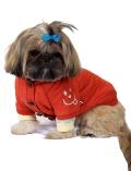 【3/31販売終了】【DOG WEAR】波形キルトカーデ