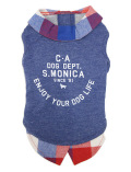【3/31販売終了】【DOG WEAR】レイヤーTシャツ