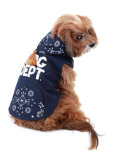 【DOG WEAR】ペイズリーボタンパーカー