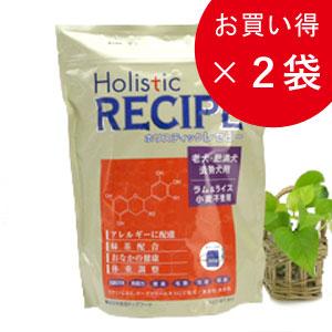 ホリスティックレセピー シニアラム&ライス 6.4kg×2個