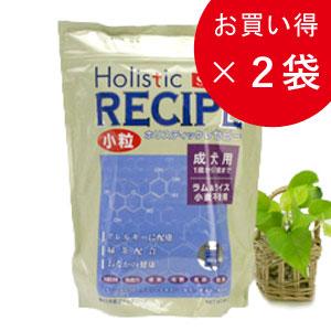 ホリスティックレセピー アダルトラム&ライス小粒6.4kg×2個