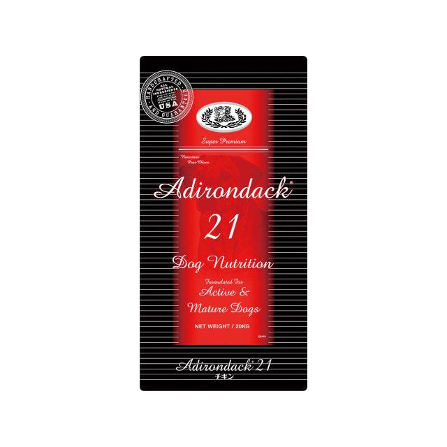 【新パッケージ】ブラックウッド アデロンダック21 20kg(5kg×4)