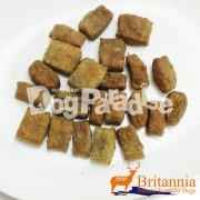 特価品 (賞味期限2017年5月6日) ブリタニア エゾ鹿 ミートビスケット(サツマイモ)70g
