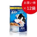 フィリックス やわらかグリル 成猫用 ゼリー仕立て チキン70g×12袋